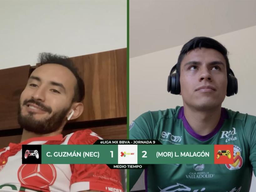 Necaxa vs Morelia, eLiga MX, 1.png