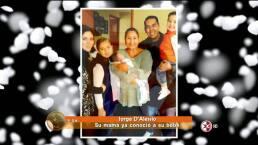Lupita D´Alessio conoce a su séptimo nieto HOY