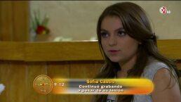 Sofía Castro sufrió accidente durante la novela