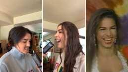 'Yo nací feita': Hijas de Biby Gaytán reviven entrevista de su madre con increíble tiktok