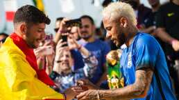 Neymar estaría en Madrid... ¿para fichar por el Real?