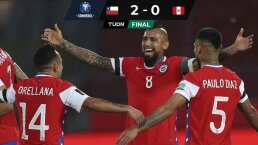 ¡Golazo de Arturo Vidal con Chile sobre Perú!