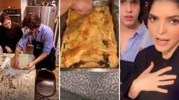 El hijo de Mariana Levy consiente a Ana Bárbara y le prepara una rica lasagna