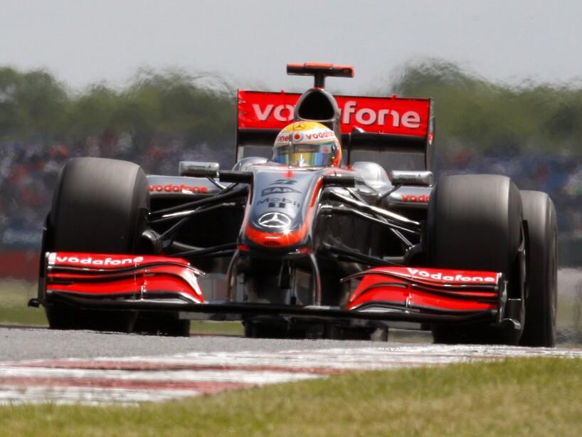 Llegó el Gran Premio de casa en Silverstone; salió en 18° y terminó en 16°