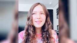 Mía Rubín retoma las redes sociales al debutar en TikTok haciendo gala de su bella voz