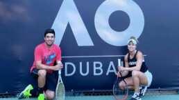 ¡Por otra hazaña! Renata Zarazúa supera primera ronda del Australian Open