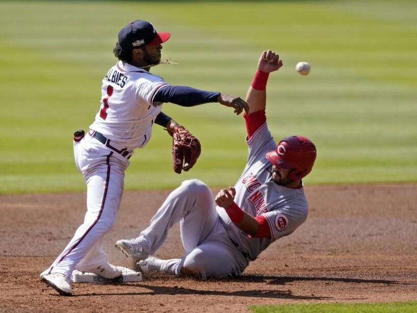 Reds Braves Baseball