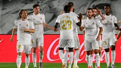 Vinicius Junior y Sergio Ramos fueron los anotadores en el triunfo 2-0 sobre Mallorca.