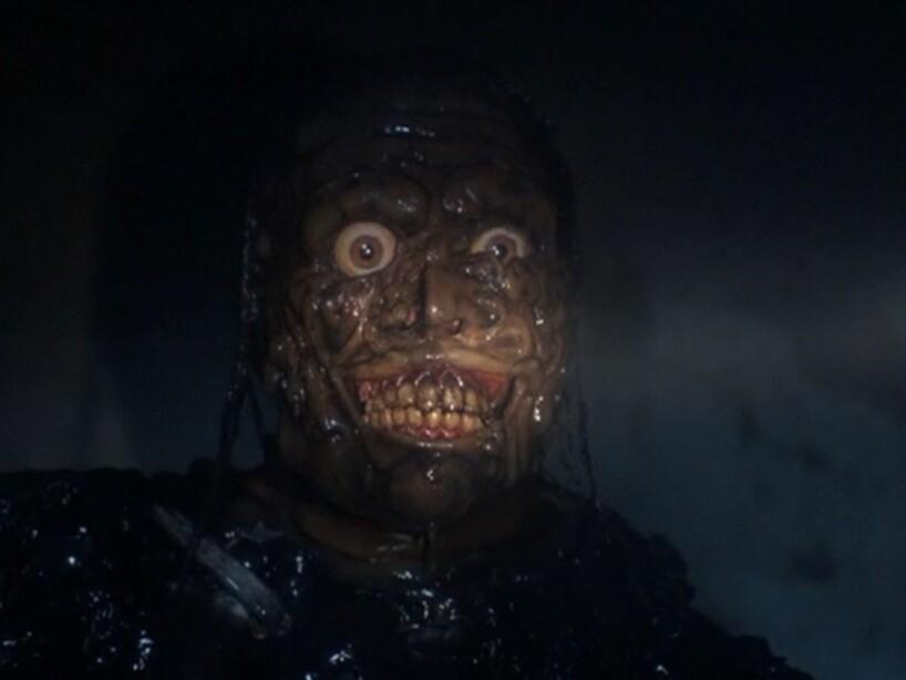 8. Tarman de Return of the Living Dead: Este pegajoso zombie será el causante de que duermas con la luz prendida.