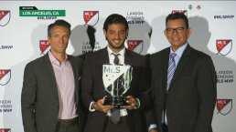 Carlos Vela hace grandes revelaciones al recibir el premio de MVP