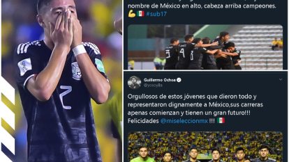 Así reacciona el mundo futbolístico en México tras la Final perdida ante Brasil.