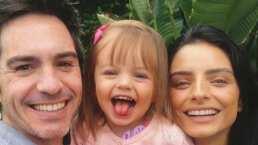Aislinn Derbez presume a su hija Kailani contando en inglés