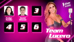 Ellos son los primeros semifinalistas del Team Lucero