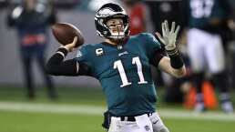 Wentz se va de Eagles a Colts con contrato multimillonario vigente