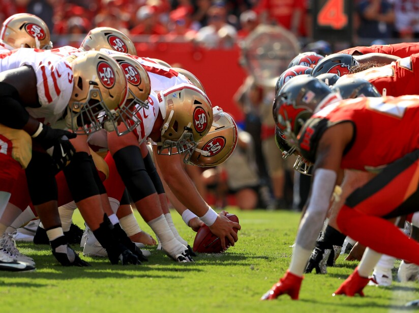 San Francisco 49ers v Tampa Bay Buccaneers