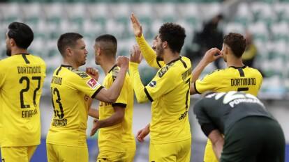 Borussia Dortmund imparable en el regreso de la Bundesliga | Los de Wolfsburgo cayeron 0-2 en la segunda jornada del regreso del máximo circuito del futbol alemán.