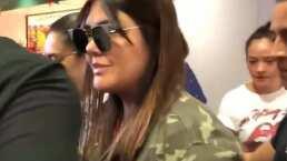 Este es el video que muestra el incidente entre Yuridia y una reportera