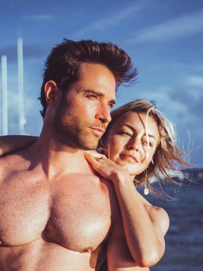 La feliz pareja se tomó unos días en Tulum, Quintana Roo, desde donde han compartido bellos momentos desde el paradisiaco lugar.