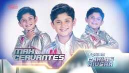 Max Cervantes canta 'A partir de hoy' en la semifinal de La Voz Kids