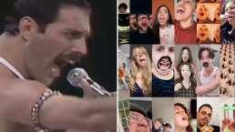 Haz tu sueño realidad y grita junto a Freddie Mercury 'Ay Oh' en este divertido reto