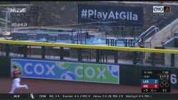 ¡La manda a la alberca! Betts pega un home run con un toque especial