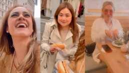 Jessica Segura graba a Mariana Botas haciendo de las suyas  en Nueva York