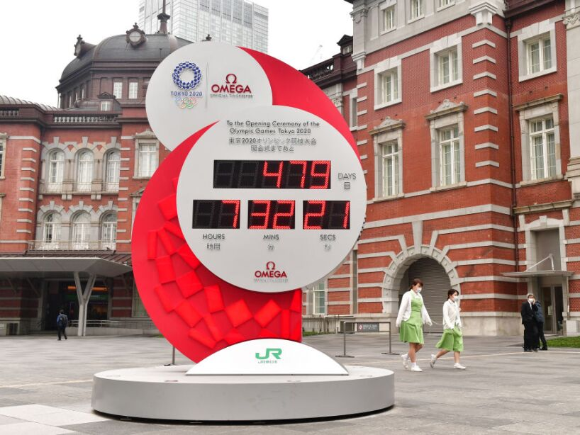 Countdown Clock Restarted After New Dates Of Tokyo Olympic Games Confirmed