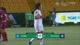 Resumen | Tigres se impone de forma contundente 3-0 a Cruz Azul
