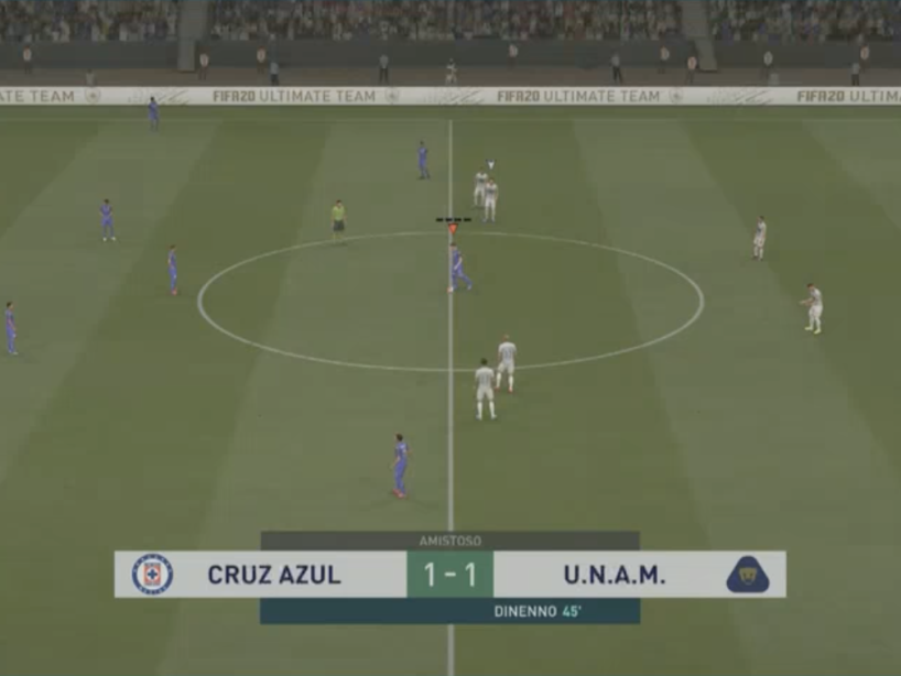 eLiga MX, Cruz Azul vs Pumas, 1.png