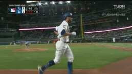 ¡Y la pelota se fue! Dodgers se acerca con batazo de Chris Taylor