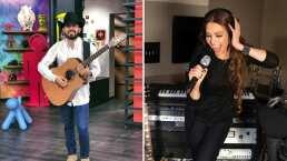 """""""¿Qué Thalía te corrió del estudio?"""": Joss Favela se pone nervioso con la pregunta de Andrea Escalona"""