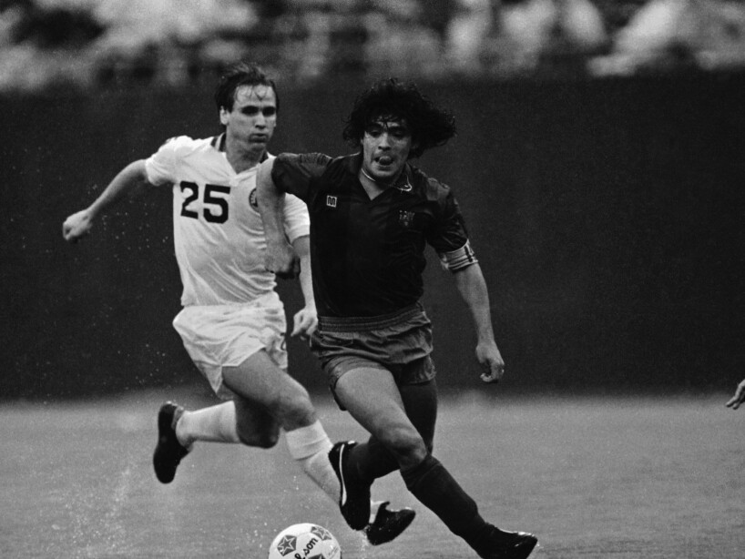 Soccer Pro USA Games 1984 Trans-Atlantic Challenge Cup