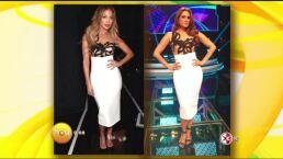 ¡Galilea Montijo y Jennifer Lopez con el mismo vestido!