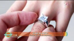 Descubre el origen del anillo de compromiso