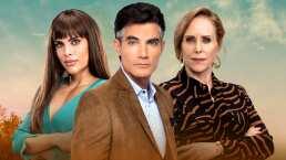 ¿Qué maldades harán Sara Corrales, Víctor González y Luz María Jerez en 'Quererlo Todo'? ¡Conoce a sus personajes!
