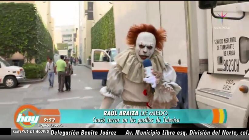 Raúl Araiza el terror de las estrellas