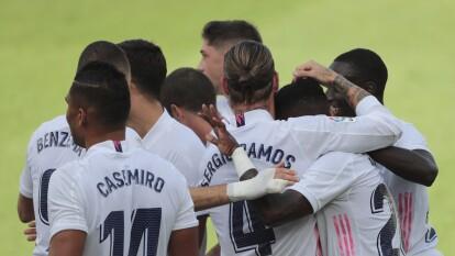 ¡Triunfo del Real Madrid y ya es líder!