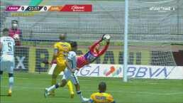 ¡Espectacular! Alfredo Talavera evita el gol de Carlos González