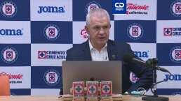 'Vasco' Aguirre no se queja del arbitraje y felicita a Cruz Azul
