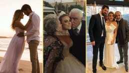 No tuvo una ni dos: Sissi, la nieta de Vicente Fernández celebró tres bodas con su ahora esposo