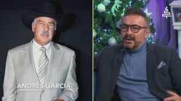 Arturo Peniche habla de la admiración que siente por Andrés García, incluso lo llama 'papá Andrés'