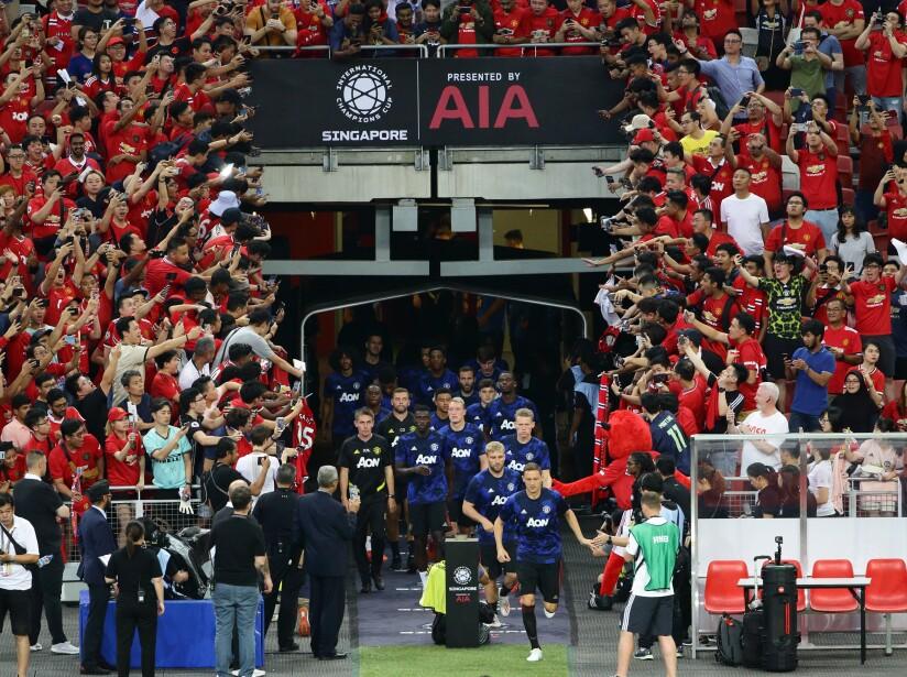 Manchester United vs. Inter de Milán