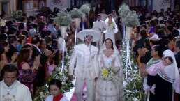 Resumen Capítulo 150: Los Reyes y las hermanas Elizondo se casan