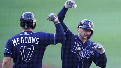 Los Rays quieren vencer rápido a los Astros y ponen la serie 2-0 a favor luego de vencer 2-4 a los de Houston.
