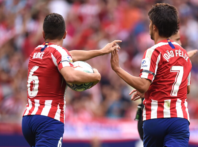 Club Atletico de Madrid v SD Eibar SAD - La Liga