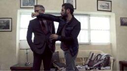 Detrás de cámaras: Santiago contra Andrés