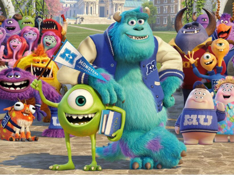 8. Monsters University recaudó 744 millones de dólares.