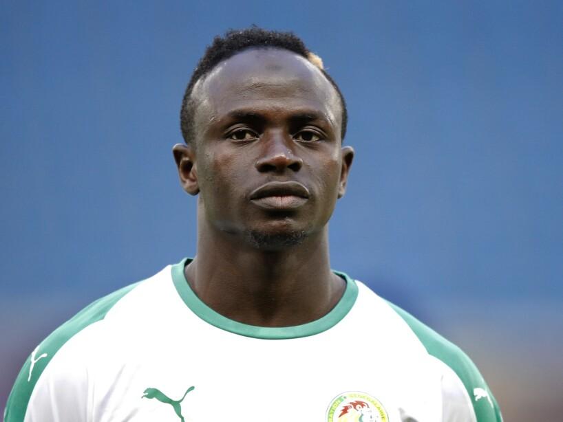 Soccer WCup Senegal Squad