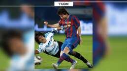 Federico Vilar recibió regalo de Lionel Messi