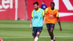 ¿Llegará a tiempo? Messi apunta con todo y vendaje ante el Bayern